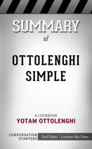 Boekomslag van 'Summary of Ottolenghi Simple: A Cookbook by Yotam Ottolenghi | Conversation Starters'