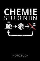 Chemie Studentin Notizbuch