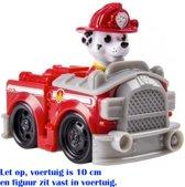 Paw Patrol Rescue Racers - Marshall Brandweer - 10 cm