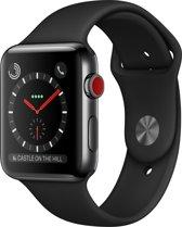 Apple Watch Series 3 - Smartwatch - Zwart - 42mm