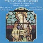 "Wolfgang Amadeus Mozart: Missa in C KV 257 ""Credo-Messe""; Missa in C KV 258 ""Piccolominimesse"""