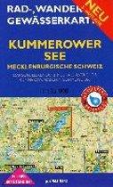 Rad-, Wander- und Gewässerkarte Kummerower See - Mecklenburgische Schweiz 1:35.000.