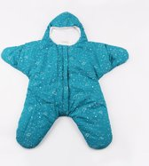 Baby slaapzak - Ster - Blauw - 3-7 mnd