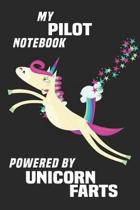 My Pilot Notebook Powered By Unicorn Farts