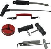 JBM Tools | Reparatie Set voor het verwijderen Voorruit | Barst in Ruit |