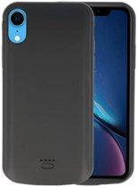 Zwart Smart Batterij Case voor iPhone XR 5000 mAh