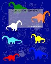 Composition Notebook Write Draw Color