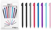 STYLUS PACK: 8 STYLUS WITH COLORS FOR 3DSXL