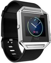Accessory Bandje Voor de Fitbit Blaze  - Armband / Polsband / Strap Band / Sportband - Zwart