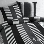 Day Dream Patric Flanel Dekbedovertrek - Litsjumeaux - 240x200/220 cm - Grijs
