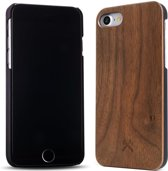 Woodcessories - iPhone 7 Hoesje - EcoBook cover Walnoot Zwart