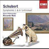 "Schubert: Symphonies Nos. 8 ""Unfinished"" & 1"