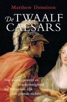 Boek cover De twaalf Caesars van Matthew Dennison (Paperback)