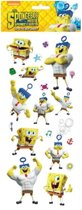Stickervel 3D Spongebob