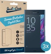 Just in Case Screen Protector Sony Xperia XZ - Crystal Clear - 3 stuks