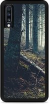 Galaxy A70 Hardcase hoesje Dark Forest