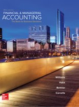 Financial and Managerial Accounting 18e ed