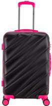 Decent Lumi Fix Spinner Koffer 66 Black/Pink