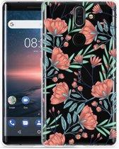 Nokia 8 Sirocco Hoesje Poppy Roses