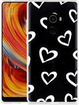 Xiaomi Mi Mix 2 Hoesje Watercolor Hearts