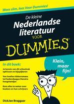 Voor Dummies - De kleine Nederlandse literatuur voor Dummies