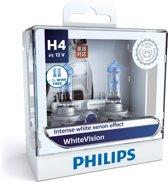 Philips White Vision H4 koplamp set auto - 2 stuks