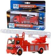 112 Brandweerwagen met Licht en Geluid 1:43