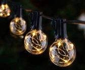 FlinQ partyverlichting - Slinger Lichtjes - 10 LED - Waterdicht - Binnen & buiten - 8 meter