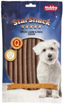 Nobby StarSnack Sticks Lam & Rijst - Hond - Snack - 3 x 200 gr