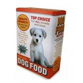 Hondenbrokken bewaarblik 24 cm - voorraadbus