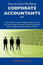 How to Land a Top-Paying Corporate Accountants Job
