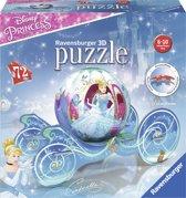 Ravensburger Disney Princess koets - 3D puzzel - 72 stukjes