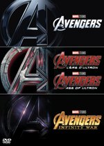 The Avengers 1-3 Boxset