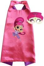 Shimmer & Shine kostuum - cape + masker - Shimmer - Roze