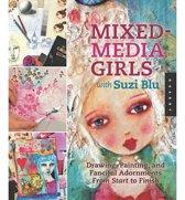 Mixed-media Girls with Suzi Blu