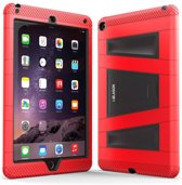i-Blason ArmorBox 2 Layer Full-Body Protection KickStand Case for iPad Air 2 rood en zwart