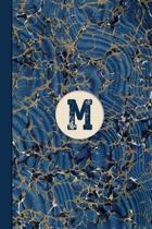 Monogram M Marble Notebook (Blue Ginger Edition)