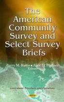 American Community Survey & Select Survey Briefs