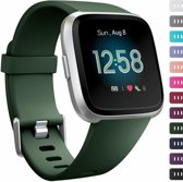 123Watches.nl Fitbit versa sport band - leger groen - ML