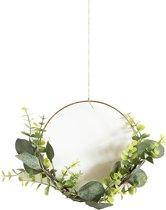 Eucalyptus krans DIY pakket - Bloemenkrans, Kerst, creatief, hobby, interieur, feest, bruiloft, deco, trouwdag, huwelijk