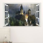 Window Onto Hogwarts 60 x 90 cm Harry Potter muursticker