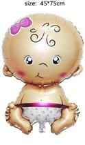 Baby Folie Ballon Roze   Baby Shower 
