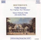 """Beethoven: Violin Sonatas Nos. 5 """"Spring"""" & 9 """"Kreutzer"""""""