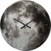 Karlsson Moon - Klok - Rond - Glas - Ø60 cm - Grijs