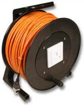 Techtube Pro - Haspel S/FTP CAT6 - oranje - 50 meter