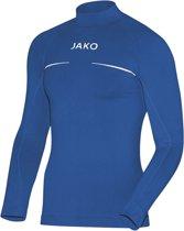Jako Turtleneck Comfort  Sportshirt performance - Maat XXL  - Mannen - blauw