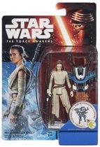 The Force Awakens 3 3/4-Inch Snow/Desert Rey (Starkiller Base) (Episode VII)