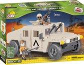 Cobi 300 PCS SMALL ARMY /24303/ US & NATO VEHICLES DESERT