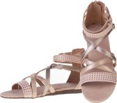 Bullboxer - platte sandalen - meisjes - maat 32 - roze - studs