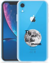 Apple iPhone Xr Hoesje Fly me to the Moon